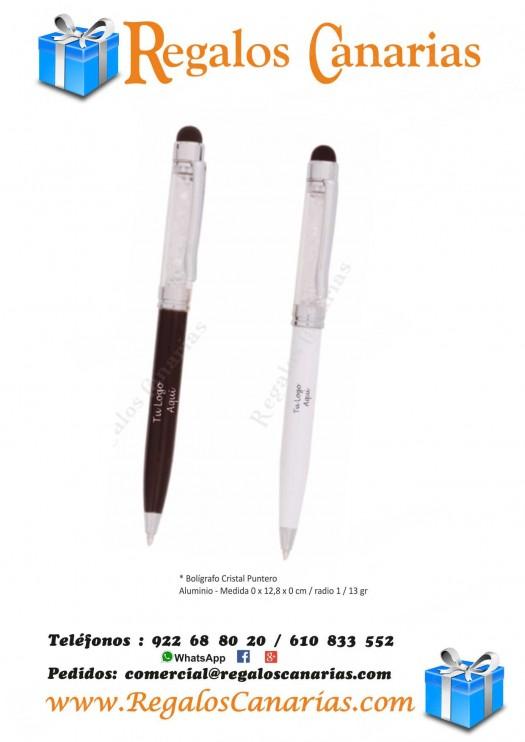 bolígrafos, puntero, cristal, personalizados, regalos, merchandising, publicidad, marketing, tenerife,canarias