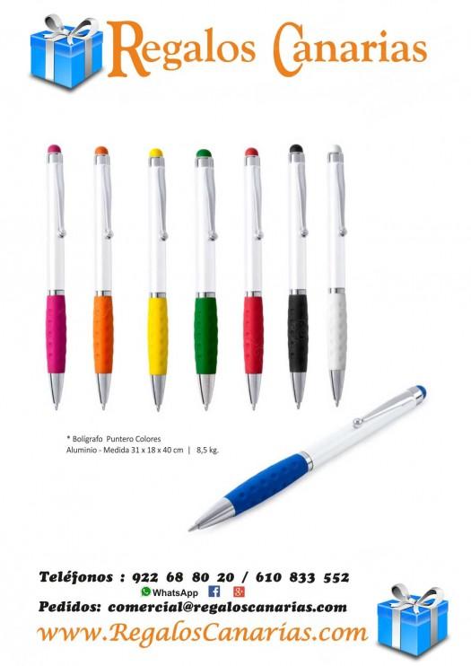 bolígrafos, puntero, colores, personalizados, regalos, merchandising, publicidad, marketing, tenerife,canarias