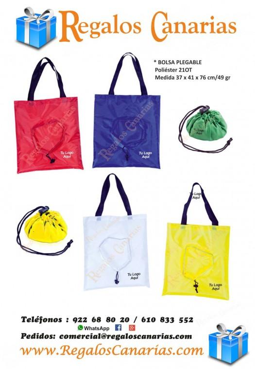 bolsas, plegables, personalizados, regalos, merchandising, publicidad, marketing, tenerife,canarias
