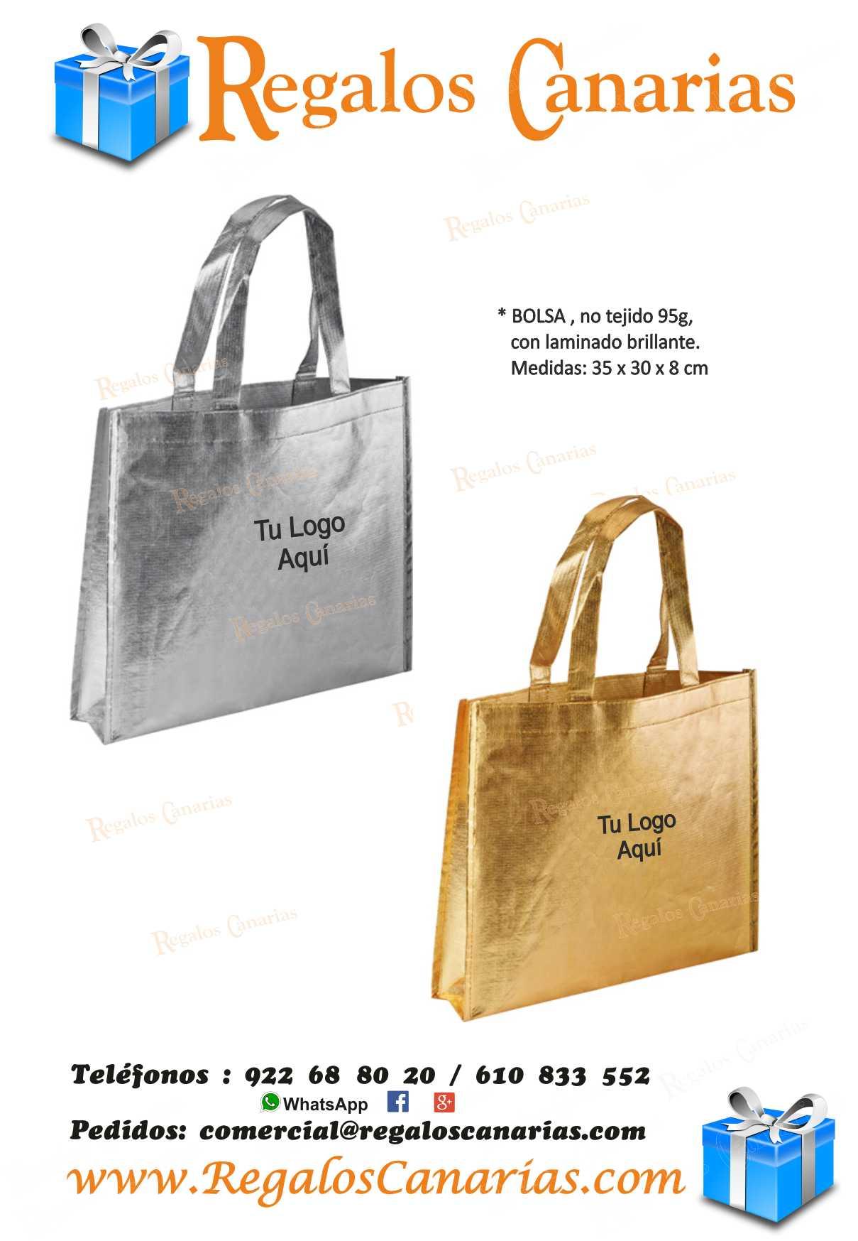 bolsas, laminadas, personalizados, regalos, merchandising, publicidad, marketing, tenerife,canarias