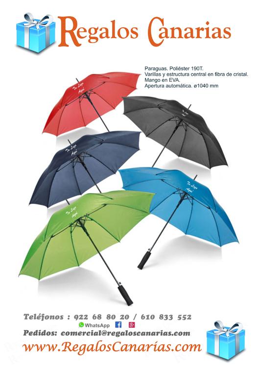 paraguas,regalos,merchsndising,canarias,tenerife,artículos,publicidad,empresas