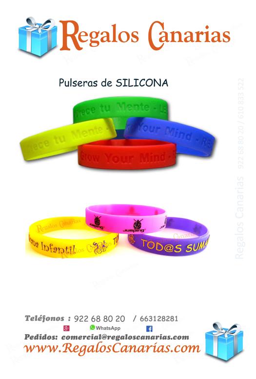 pulseras,identificativas,canarias,regalos,publicidad,merchandising,reclamos,silicona