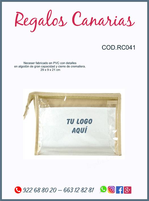 yute,neceser,regalos,canarias,merchandising, algodón,publicidad