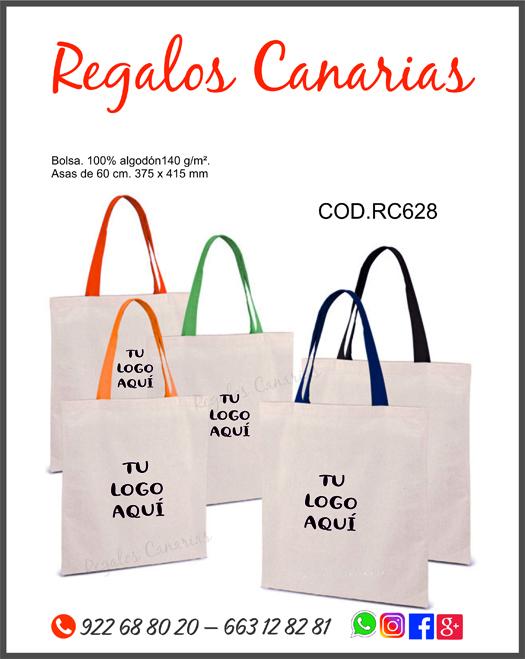 bolsas, algodón, canarias